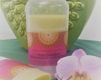 Lemongrass with Grapefruit Lotion Stick - Fights Eczema and Psoriasis