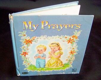 Vintage Children's Book - My Prayers - 1959