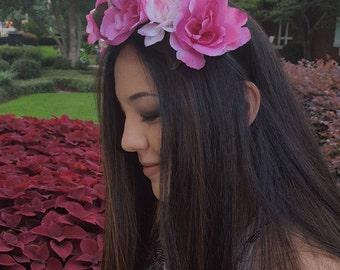 Flower Crown in Pink