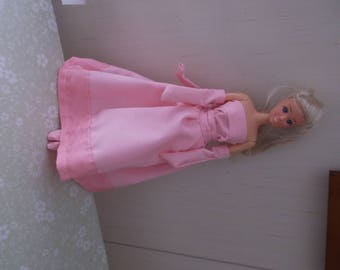 Evening Gown with hooded cape for 11 1/2 teen doll