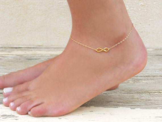 gold anklets decorating will three summer lifestyle a dainty anklet help wishes goddess you home that become