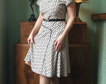 40's Reproduction dress 'Miss Hastings'