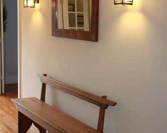 Shaker Hall Foyer Bench Seating