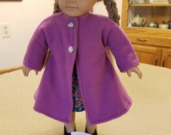 American Girl Doll Coat (SKU M60)
