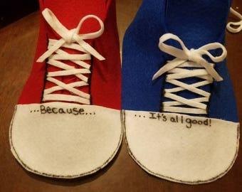Pete shoe covers