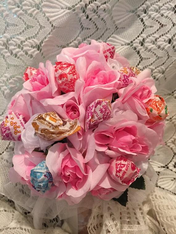 Pink Lollipop Bouquet Dance Recital Bouquet