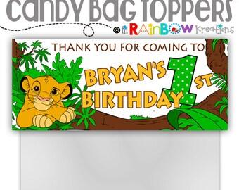 CBT-782: DIY - Lion king Bag Toppers