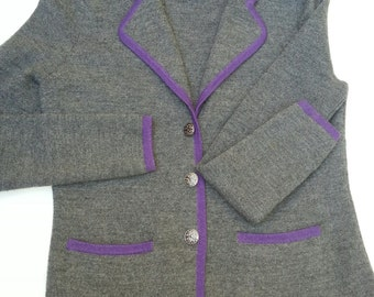 Womens sweater, womens jacket, wool sweater. womans wool sweater, merino wool