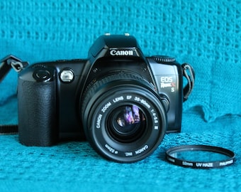 Canon EOS RebelX S Camera with Canon EF mount 35-80mm lens Working
