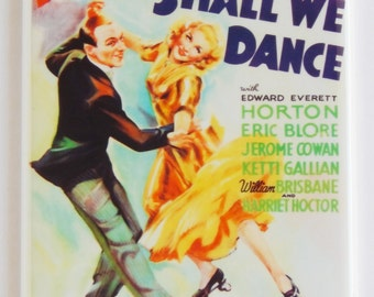 Shall We Dance Movie Poster Fridge Magnet