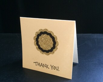 Thank You Card, simple thank you card, small thank you card