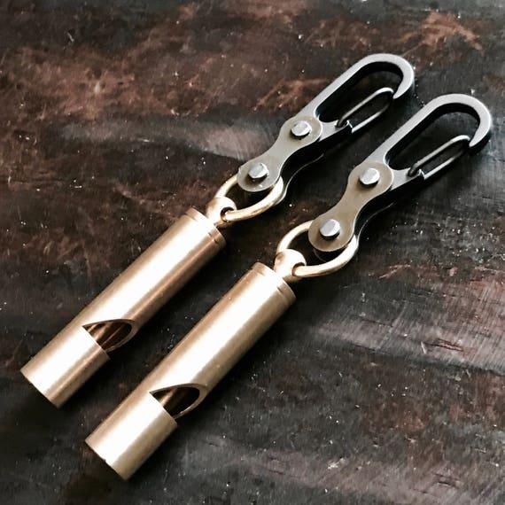 Whistle Carabiner Bike Link EDC