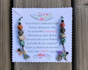 Sun & Moon Book Thong — Bookmark