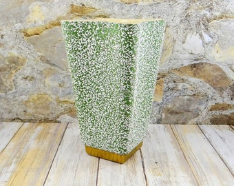 Mid Century Modern Vase by Shawnee Pottery, Chantilly Pattern from 1958