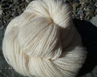 Hand Spun Romney Yarn -Worsted Weight