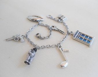 Doctor Who - River Song Charm Bracelet
