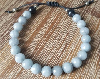 Shades of Grey - Men's bracelet