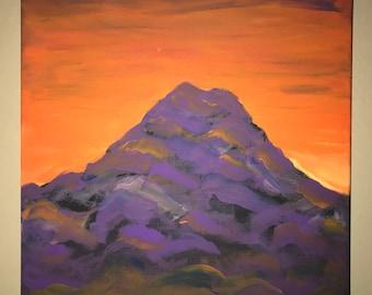 Sunset near Mt. Rainier