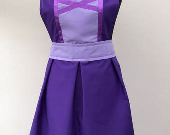 Rapunzel inspired apron ADULT