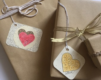 LOVE Note and Gift Tags, 8/pack, Perfect for an Extra Special Touch