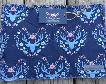 Flowery Deer Hot Pad