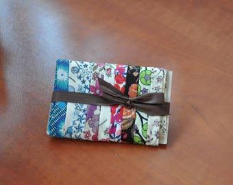 Set of 9 45-50 cms (LOTA123005) Liberty fabric