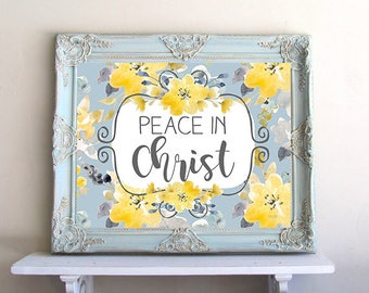 DIGITAL FILE, Peace In Christ - 2018 LDS Youth Theme Young Women