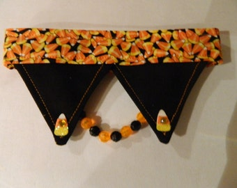 Candy Corn Dog Necklace