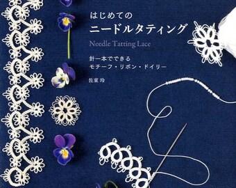 Needle Tatting Lace Book  - Japanese Craft Book