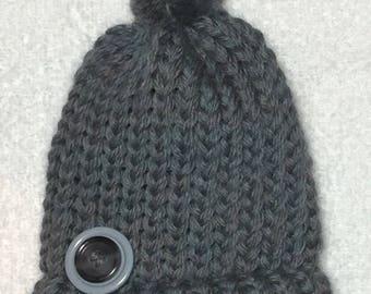 Lil Baby Blue Preemie Hat