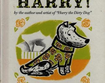 No Roses For Harry + Gene Zion + Margaret Bloy Graham + 1996 + Vintage Kids Book