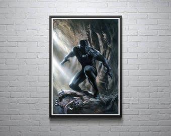 Marvel Black Panther Poster Artwork
