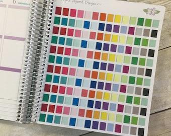 Spiral Bound Planner/Notebook Stickers