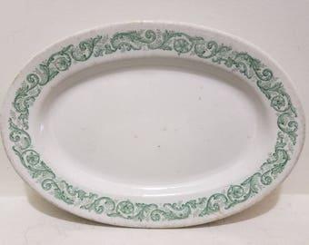 J & G Meakin - Serving Platter - Vintage English China - Hanley Endland - Waldorf Astoria