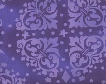 "SALE, 1 Yard, Purple Floral Fabric, 54"" Wide, Purple Floral, Purple Fabric, Floral Fabric, 05115"