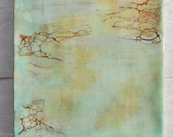 SALE~Encaustic Painting Adrift