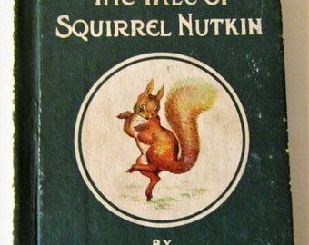 "Beatrix Potter Children's Book  ""The Tale of Squirrel Nutkin""  1931 F. Warne & Co"