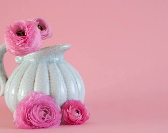 Ranunculus  - INSTANT DOWNLOAD - Styled Stock - Styled photography - Photography - Ranunculus Photography - Pink - Stock