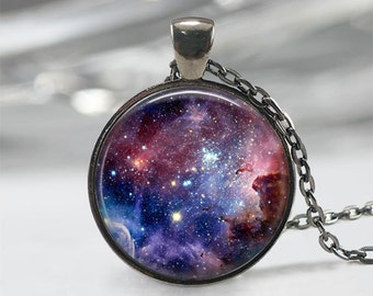 Carina Nebula Galaxy Necklace Carina Necklace Galaxy Jewelry Nebula Necklace Space Jewelry Universe Pendant Art Pendant Gift for Her
