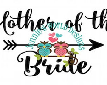Mother of the Bride MOB, Arrow - SVG Cut File