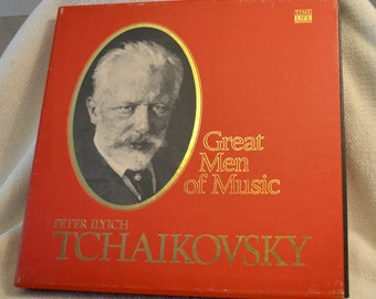 Peter Ilyich Tchaikovsky - Time Life Great Men of Music Boxed Vinyl Set of Classical Music