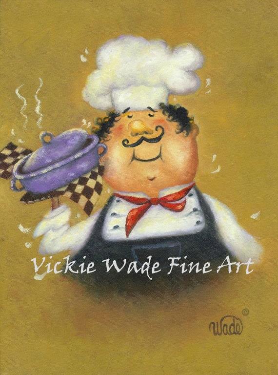 Fat Chef Prints