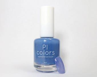 Blue Blaze.043 Nail Polish Blue Violet to Light Blue Thermal Color Change