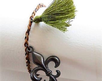 Braided bracelet 17550