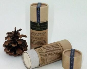SALE Sun stick - Woodsy Warrior - Sun Protection, Adventure Skincare, Bug Repellent, Vegan, Gift for Adventurer, Zero Waste- 1.75 oz