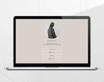 GLORIA - ONE PAGE Theme - Responsive Blogger Template, Navigation Page
