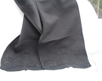 FS-001 Embroidered Scarf