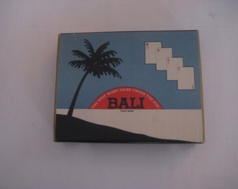 Vintage BALI CARD GAME***Word Game***1954***Excellent Condition***
