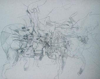 Original Abstract Drawing ~Pencil