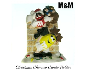 M&M - M M lover - Candy holder - Planter  - M M Collectible  - Candy lovers gift -    # 59